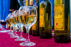 14. internationales Wein-Festival in Berehove Lizenzfreies Stockbild