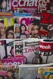 Internationalmagazine stand Royalty Free Stock Image