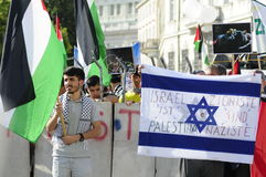 Internationell Al Quds dag 2015-Vienna Arkivfoton