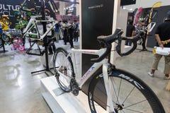 Internationell Bangkok cykel 2017 Den största cykla cykelexpon i Thailand, den populära trenden av att cykla och cykeln för farsa Royaltyfri Fotografi