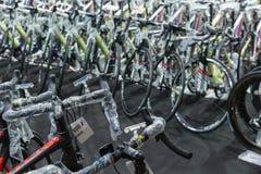 Internationell Bangkok cykel 2017 Den största cykla cykelexpon i Thailand, den populära trenden av att cykla och cykeln för farsa Arkivfoton