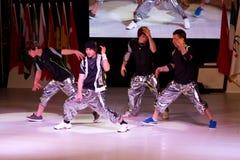 Internationell Bodrum dansfestival Arkivbilder
