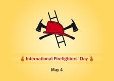 Internationell brandmandag Royaltyfri Foto