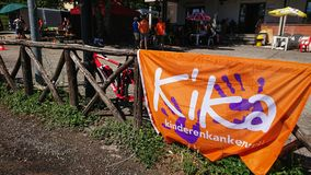 Internationell cykel Kika | Postgirot Di Kika royaltyfria bilder