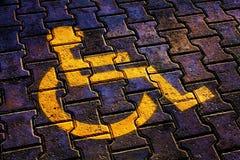 Internationell dag av personer med handikapp Arkivbild