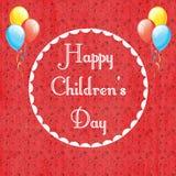 Internationell dag för barn` s stock illustrationer