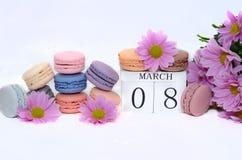Internationell dag för kvinna` s mars 8 Arkivbilder
