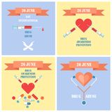 Internationell dag mot drogmissbruk och olagligt vektor illustrationer