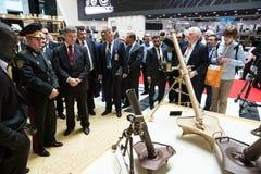 Internationell försvarutställning i Abu Dhabi Royaltyfria Bilder