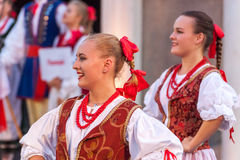 internationell festival 21-st i Plovdiv, Bulgarien Royaltyfria Bilder