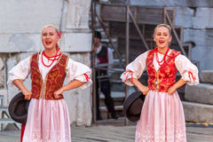 internationell festival 21-st i Plovdiv, Bulgarien Royaltyfria Foton