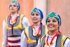 internationell festival 21-st i Plovdiv, Bulgarien Arkivfoto