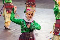 internationell festival 21-st i Plovdiv, Bulgarien Arkivfoton