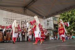 internationell festival 21-st i Plovdiv, Bulgarien Royaltyfri Foto
