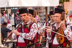 internationell festival 21-st i Plovdiv, Bulgarien Arkivbild