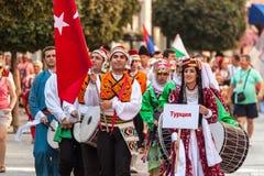 internationell festival 21-st i Plovdiv, Bulgarien Royaltyfri Bild