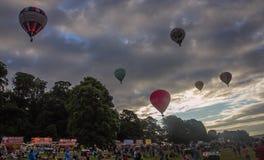 Internationell Fiesta för ballong för varm luft i bristol Arkivbilder