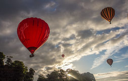 Internationell Fiesta för ballong för varm luft i bristol Arkivbild