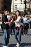 Internationell Flashmob dag av Rueda de Kasino, Royaltyfria Foton
