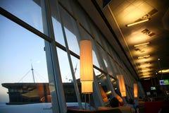 Internationell flygplats Royaltyfria Foton