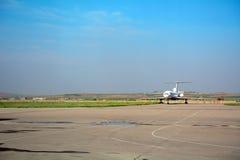 Internationell flygplats, Pyongyang, Nordkorea Arkivbilder