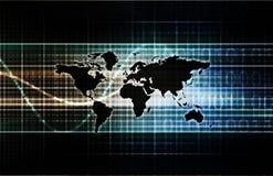 internationell handel Arkivfoton