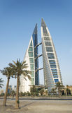 Internationell handelmitt manama Bahrain Arkivfoto
