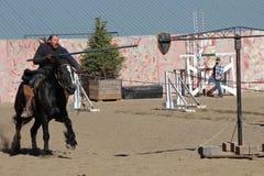 Internationell Jousting konkurrens Royaltyfria Bilder