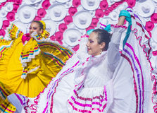 Internationell mariachi- & Charros festival Royaltyfria Bilder