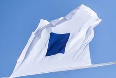 internationell maritim signalering royaltyfria bilder