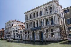 Internationell modern Art Gallery Ca ` Pesaro i Venedig Arkivbilder