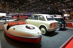 internationell motorisk show 2018 för 88th Genève - Belcar 1956 Arkivbild