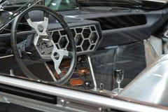 internationell motorisk show 2018 för 88th Genève - Lamborghini Marzal begreppsinre 1967 Royaltyfria Bilder