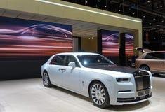 internationell motorshow för 89th Genève - Rolls Royce Phantom Tranquillity arkivbilder