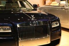 internationell ny Rolls Royce för auto bil show Royaltyfria Bilder