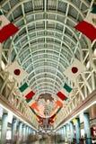 internationell o terminal för flygplatschicago hare Arkivbilder