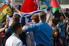 Internationell Quds dag Arkivfoton