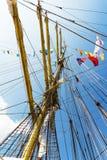 internationell regatta Varna Bulgarien Fotografering för Bildbyråer