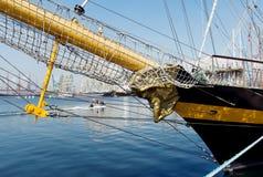 internationell regatta Varna Bulgarien Arkivbild
