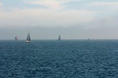 internationell regatta Varna Bulgarien Royaltyfri Fotografi