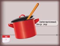 Internationell soppadag Royaltyfria Bilder