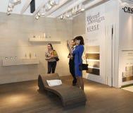 Internationell utställning Arkivbild
