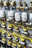 Internationell utställning av inhemsk och industriell utrustning fo Royaltyfri Foto