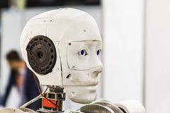 Internationell utställning av robotteknik och avancerade teknologier Fotografering för Bildbyråer