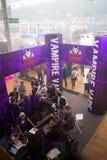 Internationell utställning för VAPEXPO av den elektronisk cigaretten och vap Fotografering för Bildbyråer