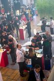 Internationell utställning för VAPEXPO av den elektronisk cigaretten och vap Royaltyfri Fotografi