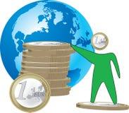 Internationell valuta Royaltyfria Foton