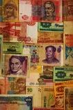 Internationell valuta Royaltyfria Bilder