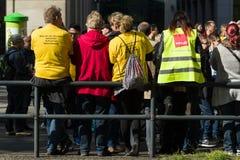 Internationell Workers' Dag 1 Maj 2016, Berlin, Tyskland Royaltyfri Fotografi