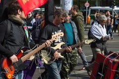 Internationell Workers' Dag 1 Maj 2016, Berlin, Tyskland Fotografering för Bildbyråer